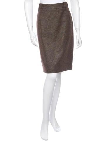 Loro Piana Cashmere Skirt