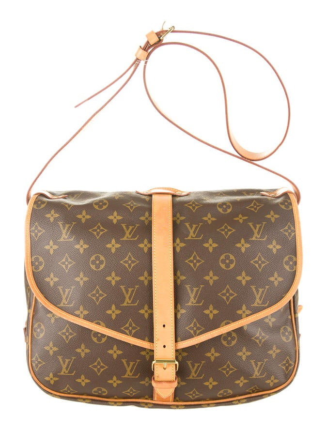 Model Louis Vuitton Monogram Danube Messenger Bag In Brown | Lyst