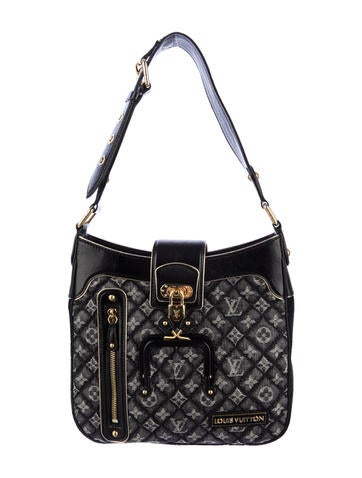 Louis Vuitton Quilted Denim Musette