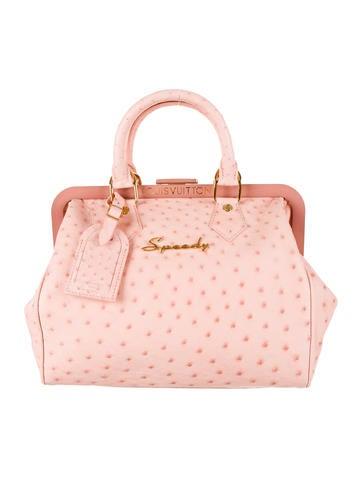 Louis Vuitton LV X Richard Prince Struisvogel Speedy Bag