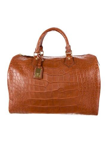 Louis Vuitton Alligator Speedy Exotique Bag