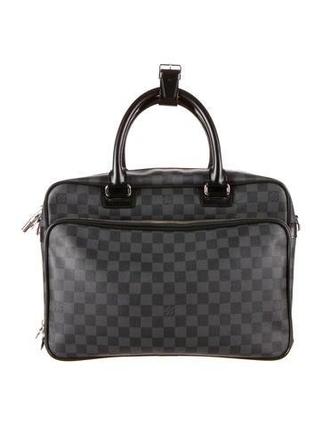 Louis Vuitton Damier Graphite Icare Laptop Bag