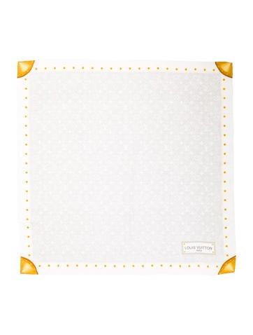 Louis Vuitton Monogram Denim Silk Scarf