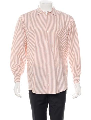 Luciano Barbera Linen Button-Up Shirt