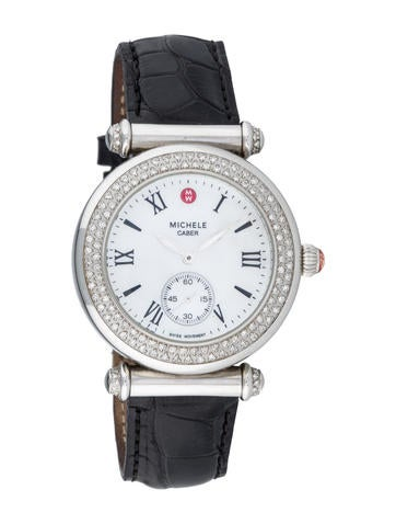 Michele Diamond Caber Watch