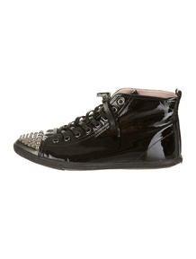 Miu Miu Patent Sneakers