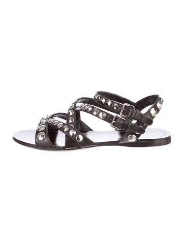 Miu Miu Studded Sandals