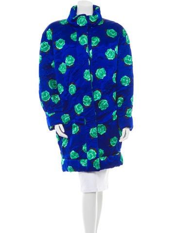 Nina Ricci Silk Coat