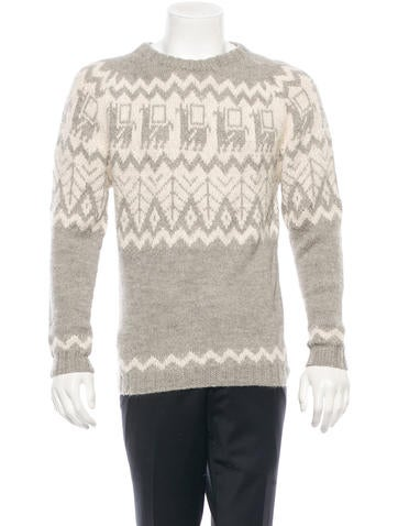 Industry of all Nations Alpaca Sweater w/ Tags
