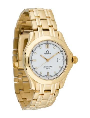 Omega 18K Gold Seamaster Watch