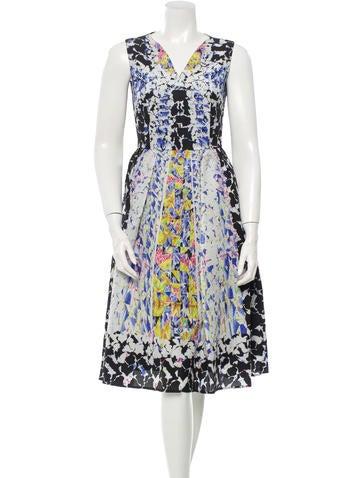 Peter Pilotto Silk Dress