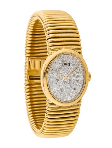 Piaget Gold and Diamond Watch