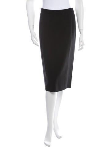 Prada Wool Skirt