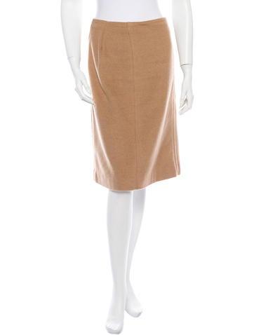 Prada Camel Skirt
