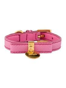 Prada Saffiano Bow Bracelet