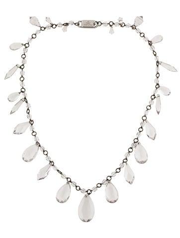 Prada Lucite Bead Necklace