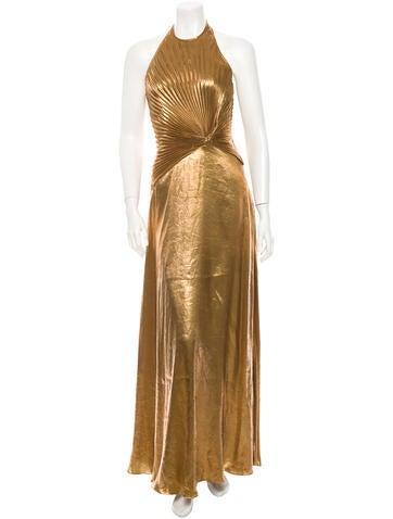 Ralph Lauren Collection Lamé Gown w/ Tags