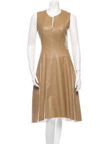 Reed Krakoff Leather Dress