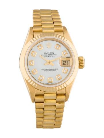 Rolex 18K Gold President Watch