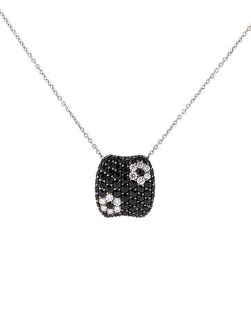 Roberto Coin 18K Diamond and Sapphire Necklace