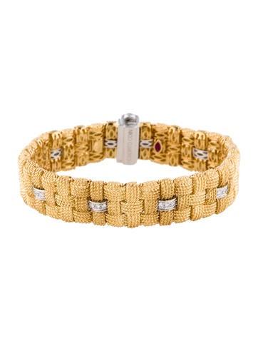 Roberto Coin 18K Appassionata Diamond Bracelet