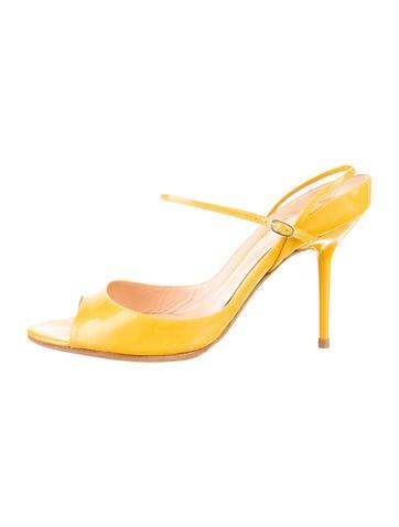 Sergio Rossi Patent Sandals
