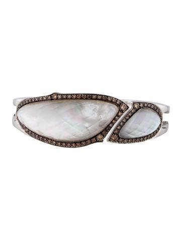 Stephen Webster Crystal Haze Brown Diamond Cuff