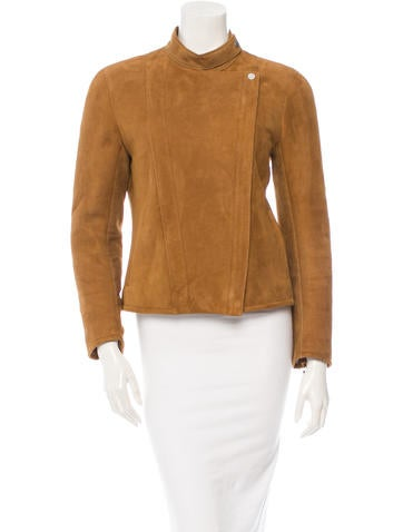 The Row Suede Jacket