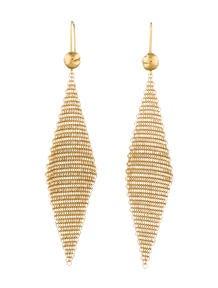Tiffany & Co. Mesh Scarf Earrings