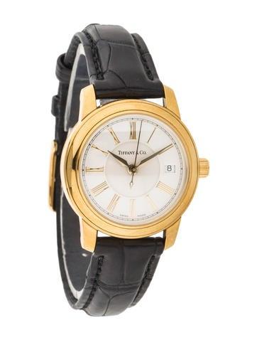 Tiffany & Co. 18K Yellow Gold Watch