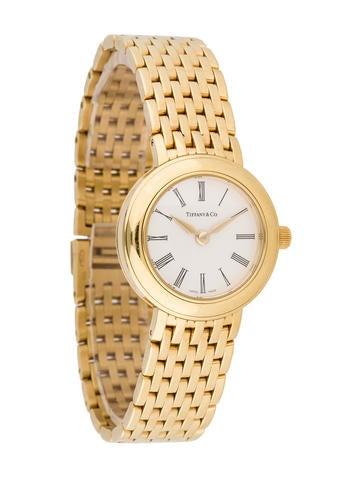 Tiffany & Co. 18K Quartz Watch