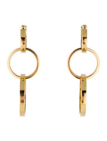 Tiffany 0026 Co. Triple Cirkel Drop Earring