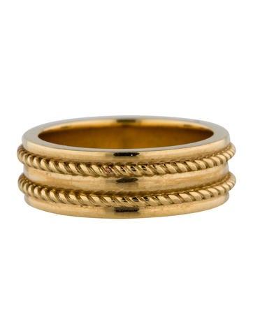 Tiffany & Co. 18K Corded Ring