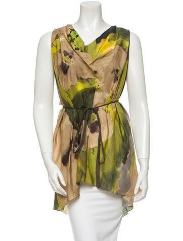 Vera Wang Silk Tunic
