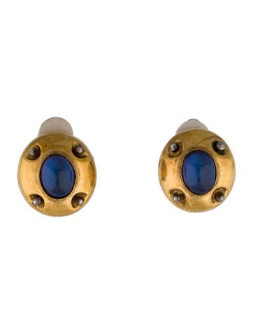 Vaubel Moonstone Earrings