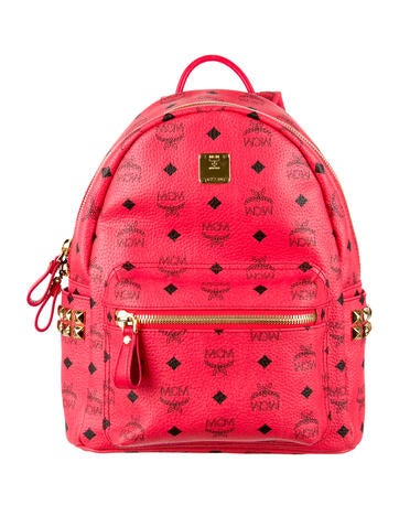 MCM Klein Stark Side Stud Backpack