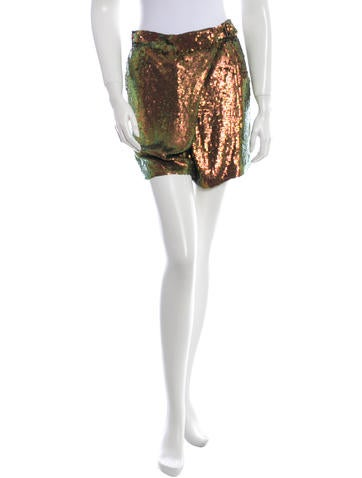 3.1 Phillip Lim Silk Sequin Skort
