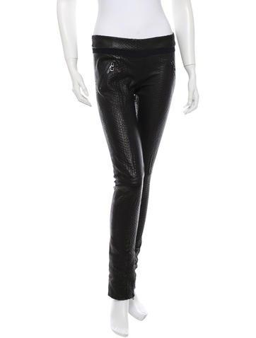RtA Denim Leather Pants w/Tags