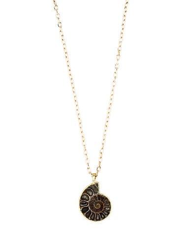 LFR Designs Fossilized Nautilus Necklace