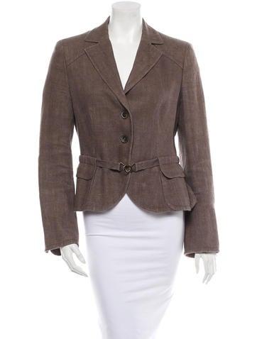 Akris Punto Linen Jacket