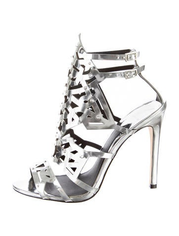 B Brian Atwood Laconica Cage Sandals