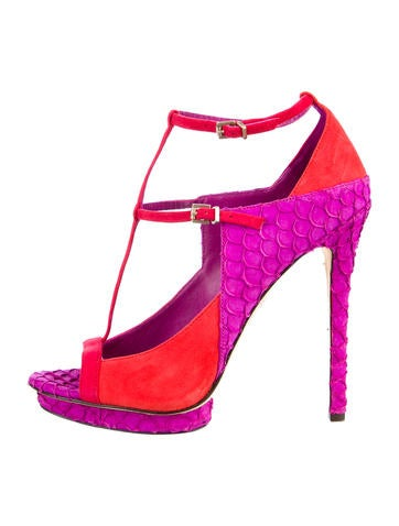 B Brian Atwood Platform Sandals
