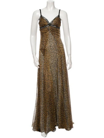 D&G Silk Maxi Dress