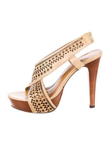 Diane von Furstenberg Platform Sandals