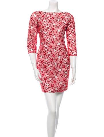 Diane von Furstenberg Long-Sleeve Dress