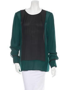 10 Crosby Derek Lam Silk Blouse