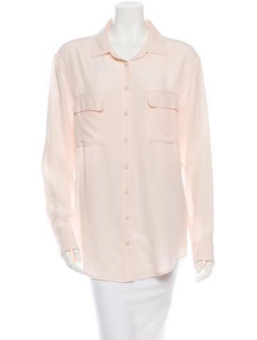 Equipment Silk Button-Up Shirt
