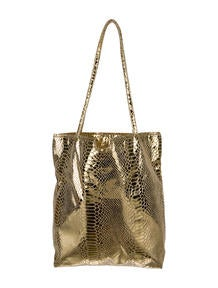 Fatto a Mano by Carlos Falchi Metallic Tote