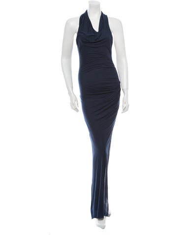 Helmut Lang Knit Maxi Dress