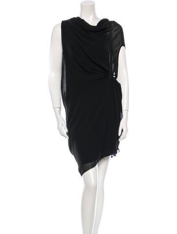 Helmut Lang Silk Dress w/ Tags